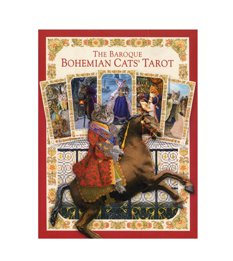 Таро Барочные Богемские Коты — Baroque Bohemian Cats 1